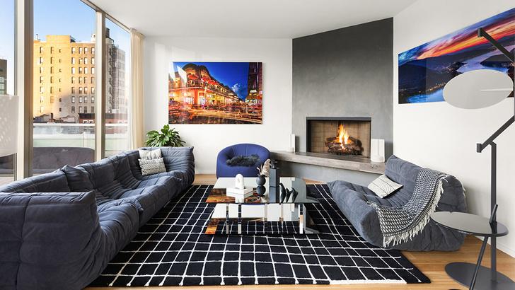 Фото №3 - Светлый пентхаус по дизайну Ленни Кравица в Нью-Йорке