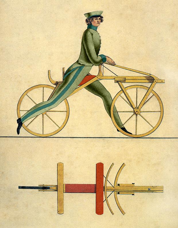 Фото №2 - Как и почему изобретатель велосипеда изобрел еще и мясорубку