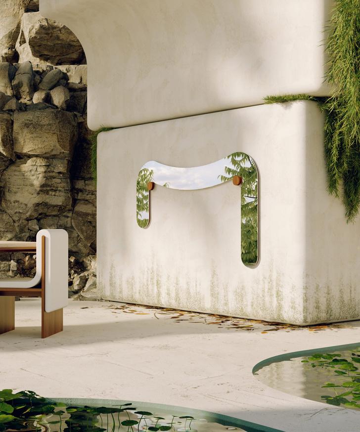 Фото №5 - Melt Mirrors: коллекция зеркал от Bower Studios