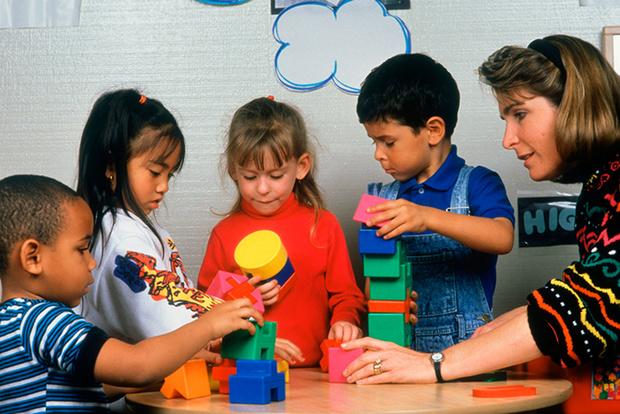 Фото №1 - Детские сады за границей