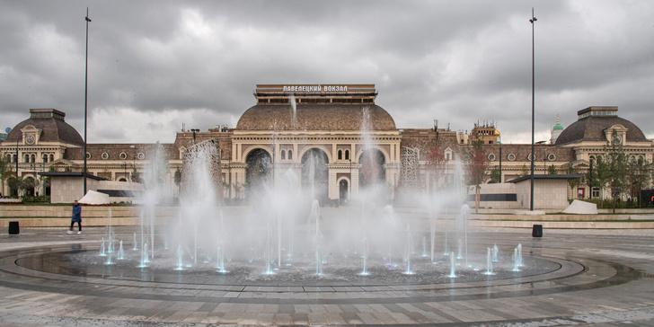 Фото №1 - На Павелецкой площади открылся ландшафтный парк
