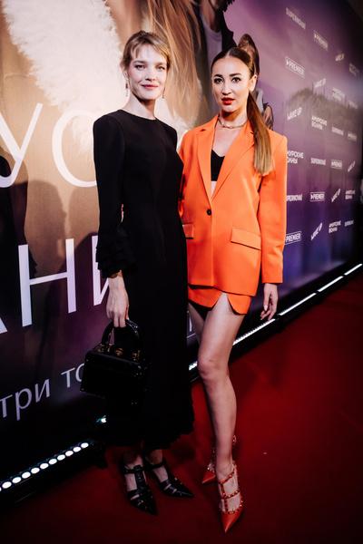 Наталья Водянова и Ольга Бузова