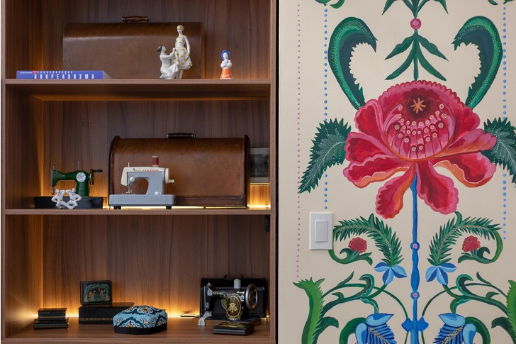 Фото №6 - Швейное ателье «МОМО»: интерьер в неорусском стиле от бюро Nativ Studio