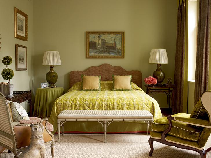 Фото №12 - Зеленый цвет в интерьере: советы по декору