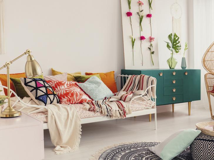 Фото №6 - Стиль бохо в интерьере: как создать в квартире богемную обстановку