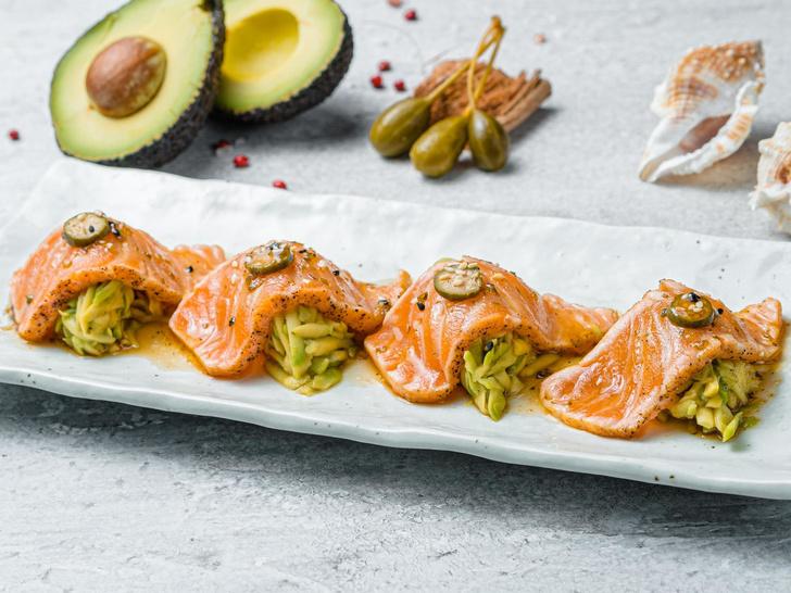 Фото №4 - Не только суши: 3 необычных рецепта из сырой рыбы