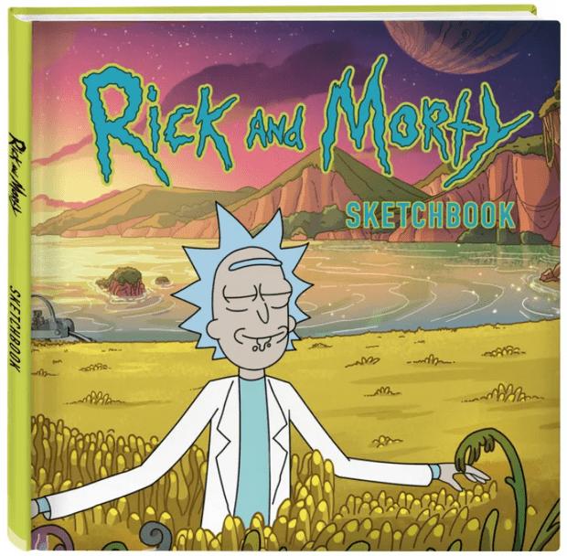 Фото №3 - «Рик и Морти» в личное пользование! Крутые блокноты с героями культового мультсериала