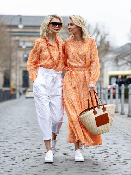 Оранжевый в одежде. Оранжевый в образах. Приглушенные тона. Приглушенные оттенки. Приглушенный оранжевый.