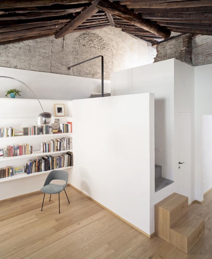 Фото №1 - Квартира с террасой в историческом центре Генуи