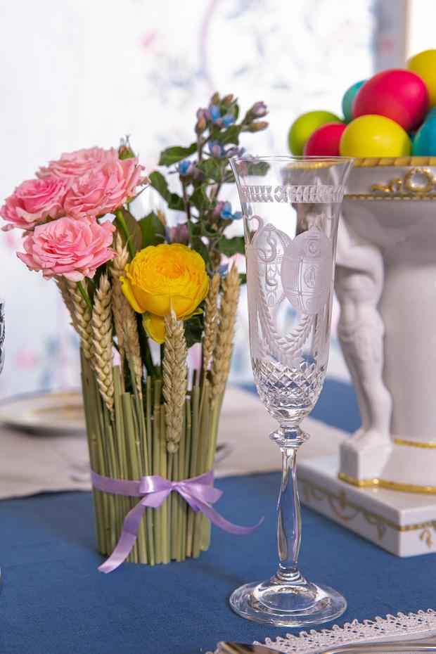 Фото №10 - Украшаем стол к Пасхе: идеи декора от ювелира Петра Аксенова