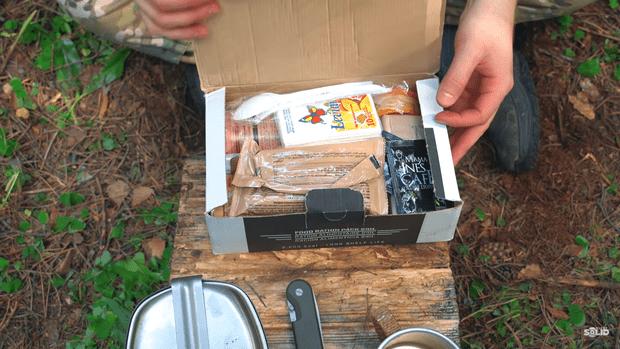 Фото №3 - Редкий сухпаек из Франции: распаковка, дегустация, масса фото