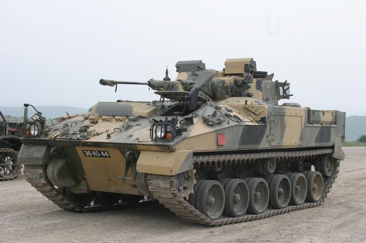Фото №3 - «Пластиковый танк»— порождение британской военной мысли. Как его строили и что с ним стало