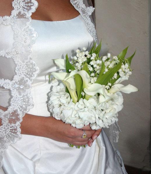 Свадебные белые букеты: 16 фотографий — www.wday.ru