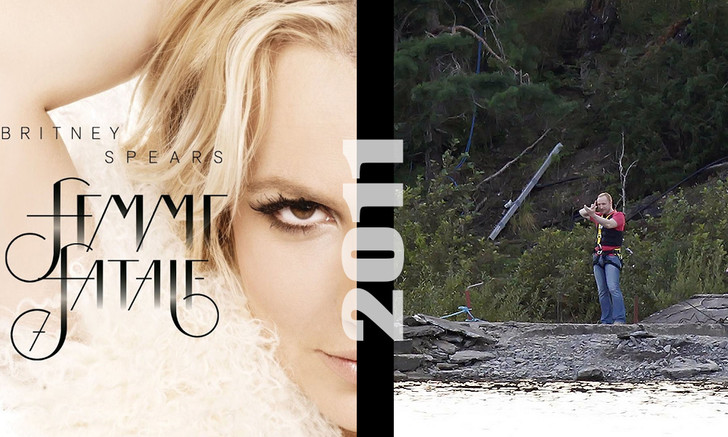 Фото №8 - «Намедни с Бритни Спирс»: MAXIM сравнил события из жизни певицы с мировой историей