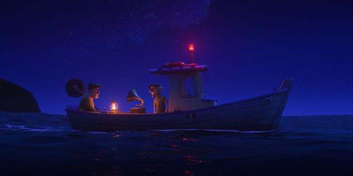 Фото №1 - 10 невероятно прекрасных и трогательных сцен из мультфильма «Лука» от Pixar 🌊
