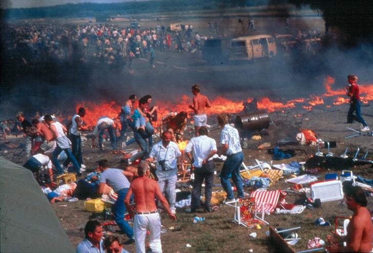 Фото №3 - Авиашоу массового уничтожения: катастрофа на базе Рамштайн, 1988