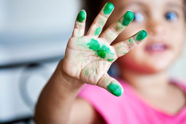 Фото №1 - Пальчиковые краски для малышей