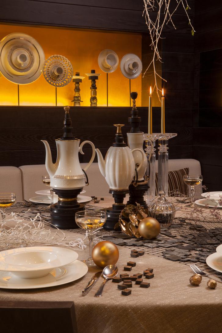 Фото №2 - Три новогодние сервировки от дизайнера Александрины Лукач