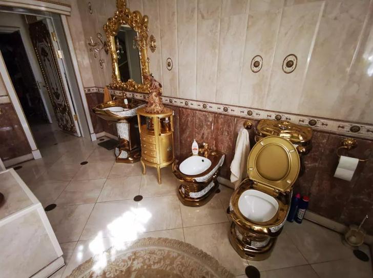 Фото №1 - Архитектор рассказал, сколько стоят золотая мебель и сантехника из дома экс-главы ГИБДД Ставрополья