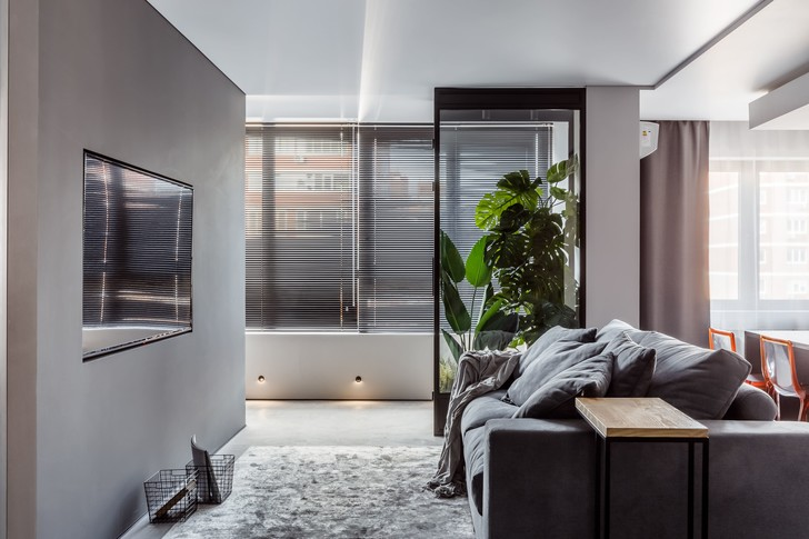 Фото №5 - Квартира с эффектной ванной в Краснодаре 89 м²